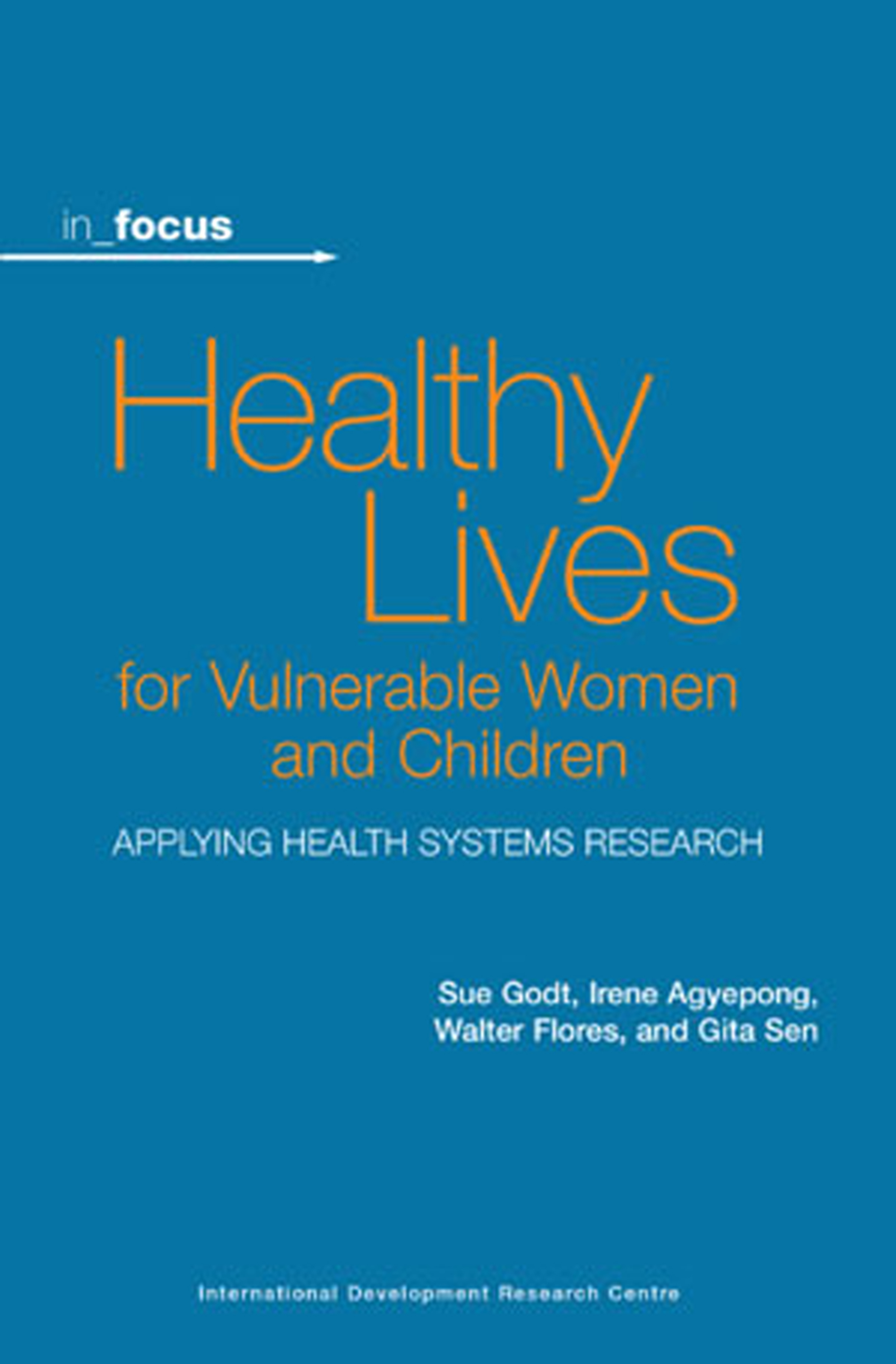 Healthy Lives for Vulnerable Women and Children