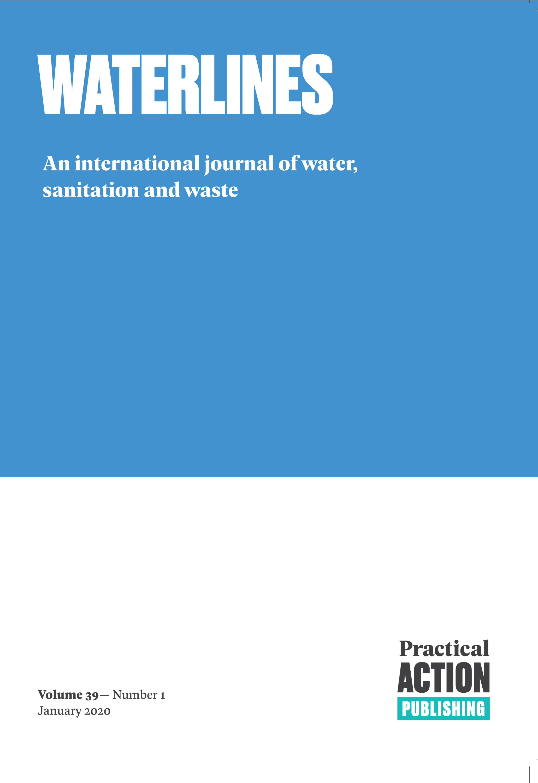 Water, sanitation, and hygiene in humanitarian situations