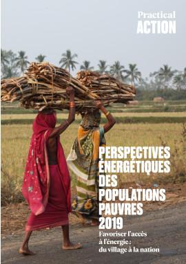 Perspectives énergétiques des populations pauvres 2019