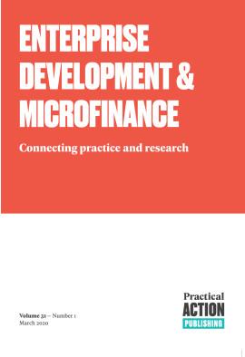 Enterprise Development and Microfinance